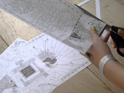 DIY-Carte du Marauder's-Potter V