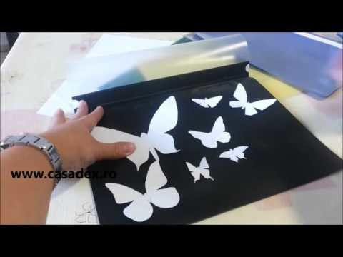 DIY Easy and cheap butterfly decoration tutorial