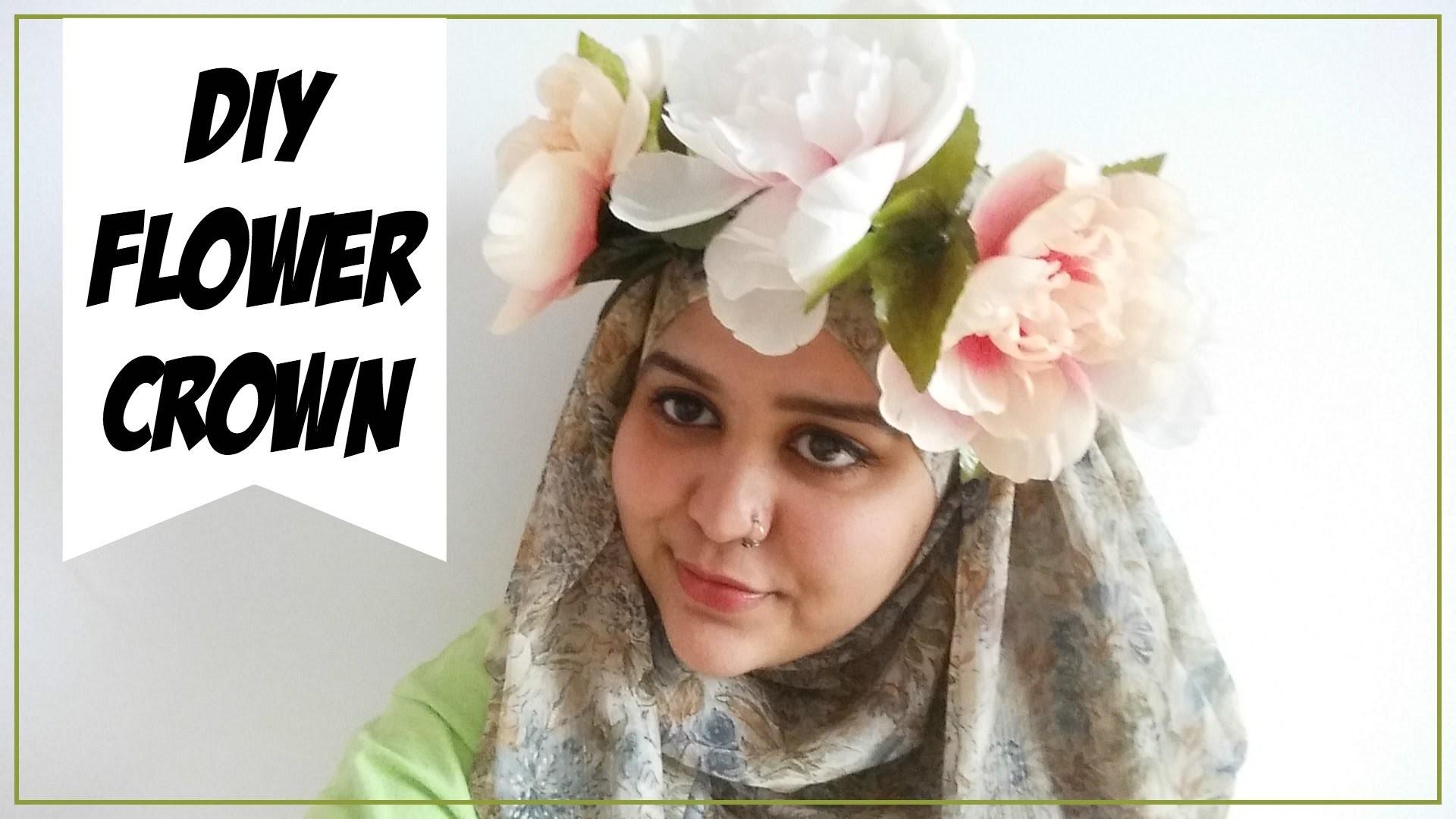 ✄ DIY Flower Crown ❀