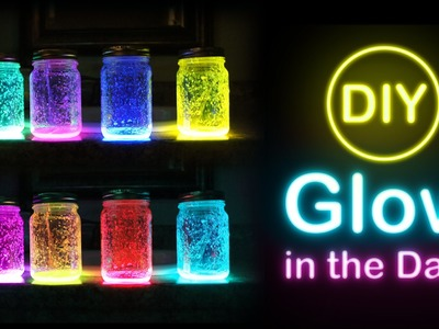 DIY- Glow In The Dark Mason Jar