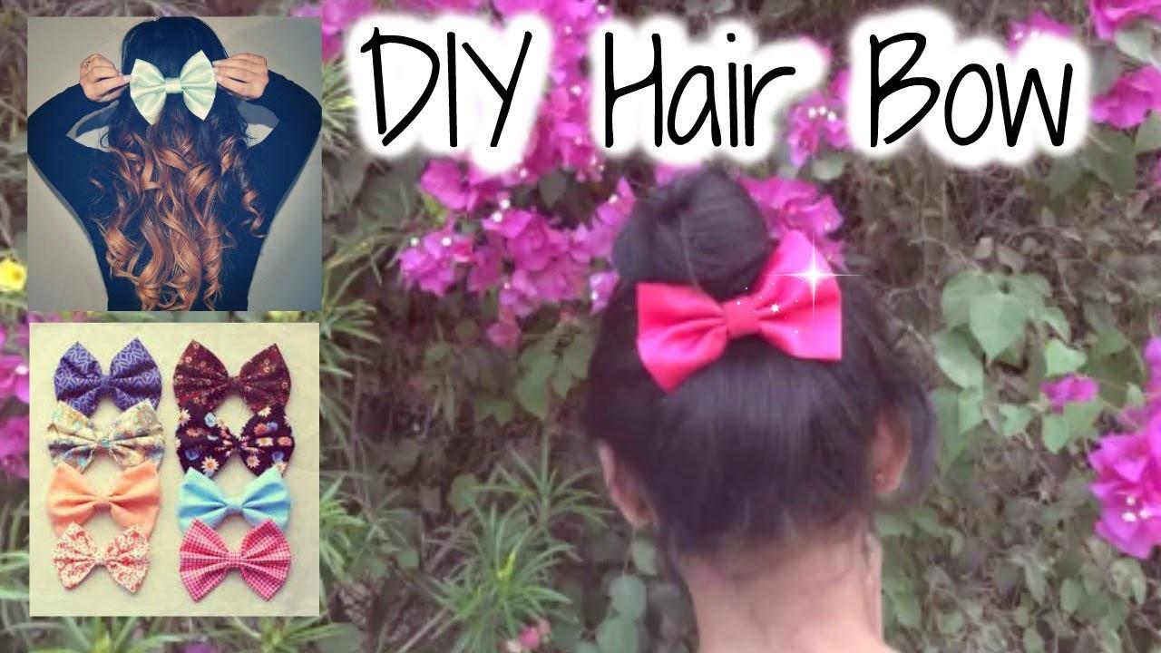 DIY Hair Bow | Xx