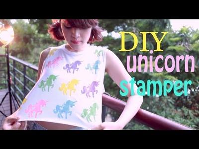DIY unicorn stamper (english subtitles)
