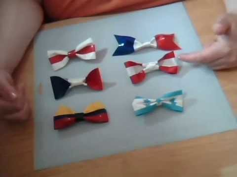Duck Tape Hair Bows Tutorial - #duckworldcup