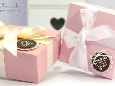 Elegant Pink and Brown Box Tutorial