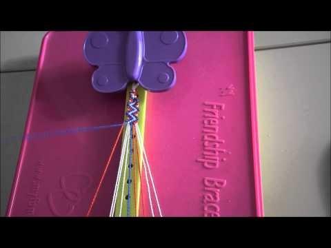 Friendship Bracelet Tutorial (Zig Zag.Lightning Bolt)
