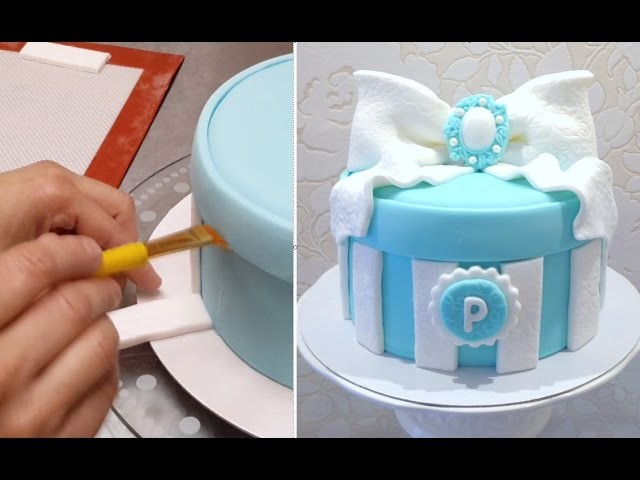 GIFT BOX CAKE - Birthday Cake Ideas.Tutorial by CakesStepbyStep
