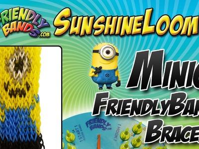 How to Make a FriendlyBand SunshineLoom - MINION Bracelet Tutorial