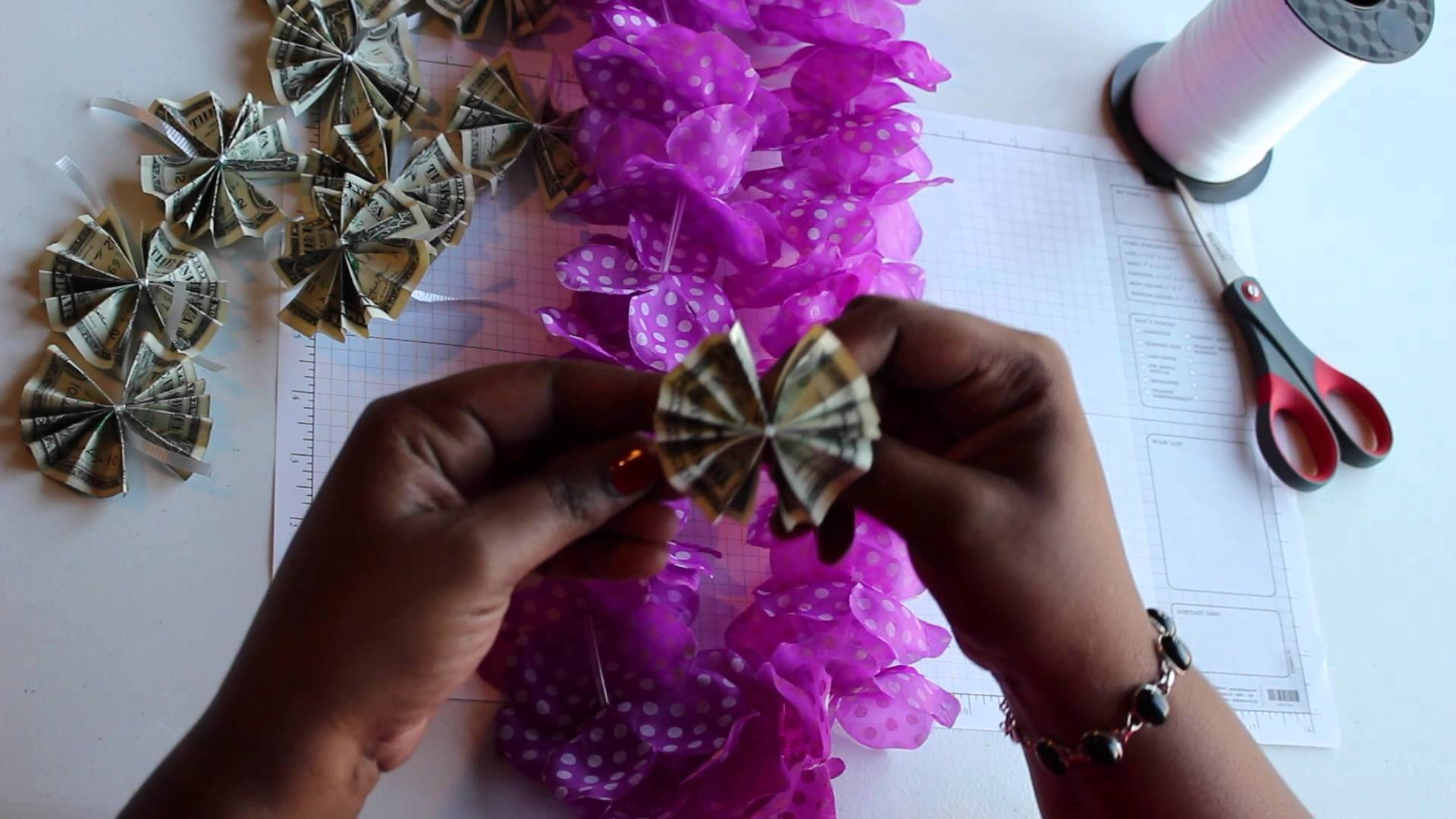 HOW TO MAKE A LEI: Step By Step Tutorial