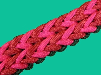 How to make a Serenity Sinnet Paracord Bracelet Tutorial (Paracord 101)