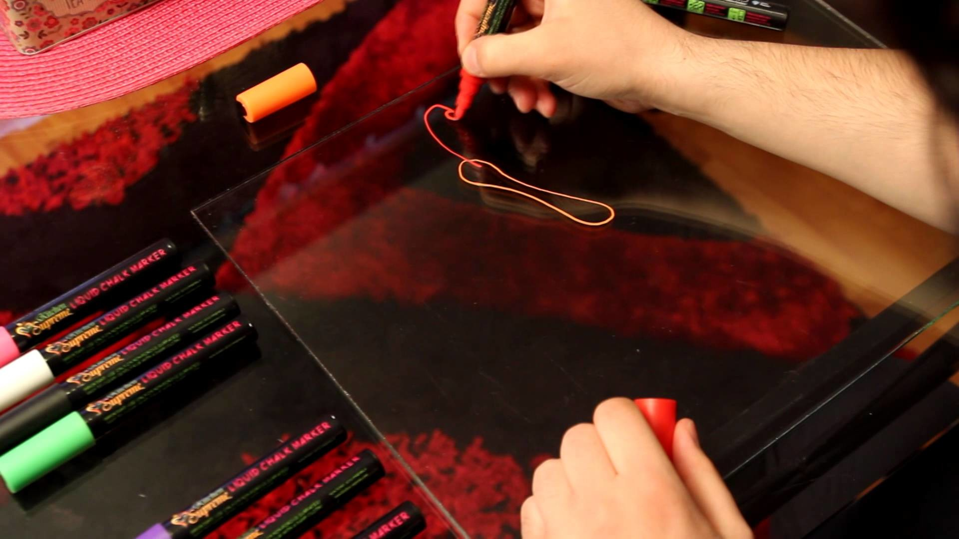 How To use Liquid Chalk Markers Pens + TUTORIAL Video by Kitchen Supreme