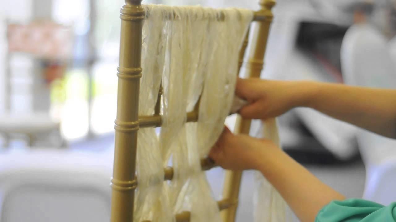 Lace sash tutorial