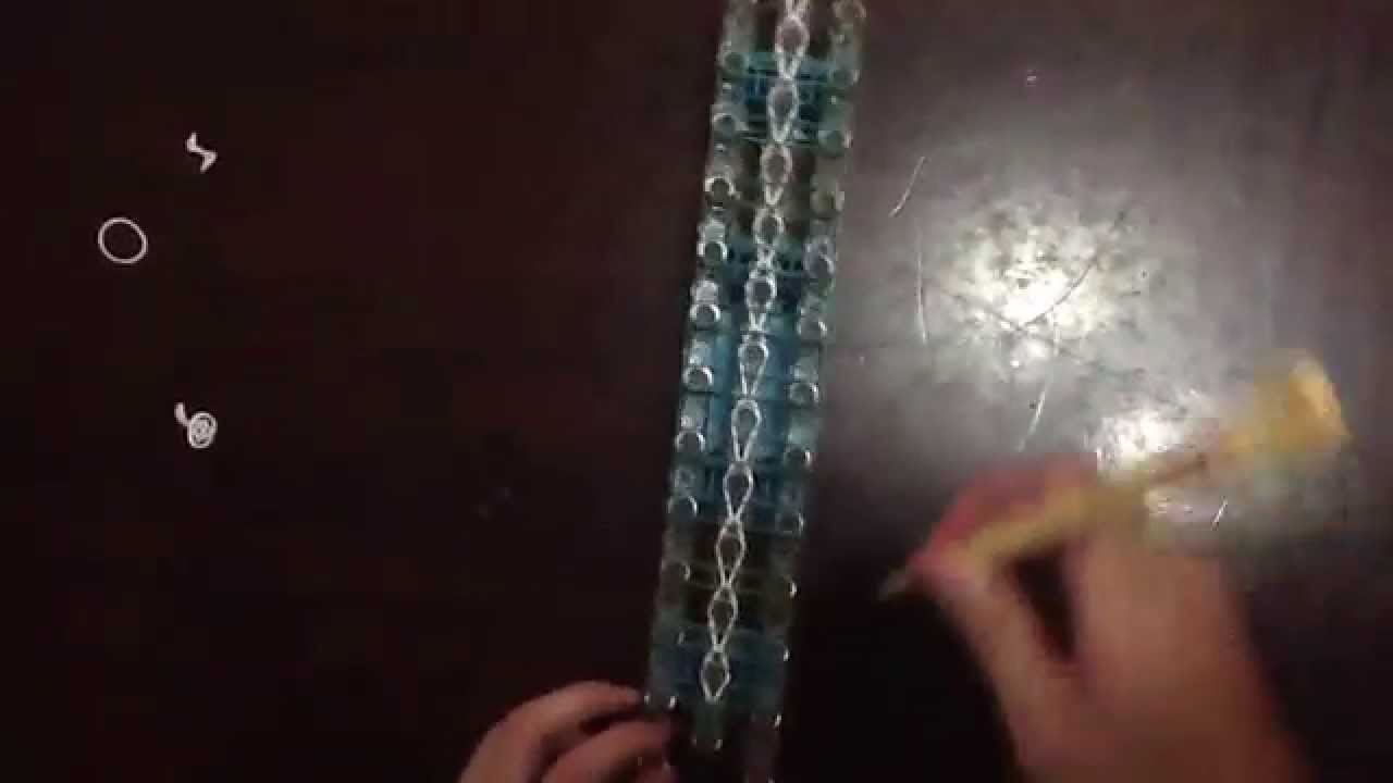 Ladder Bracelet Tutorial (Rainbow Loom)