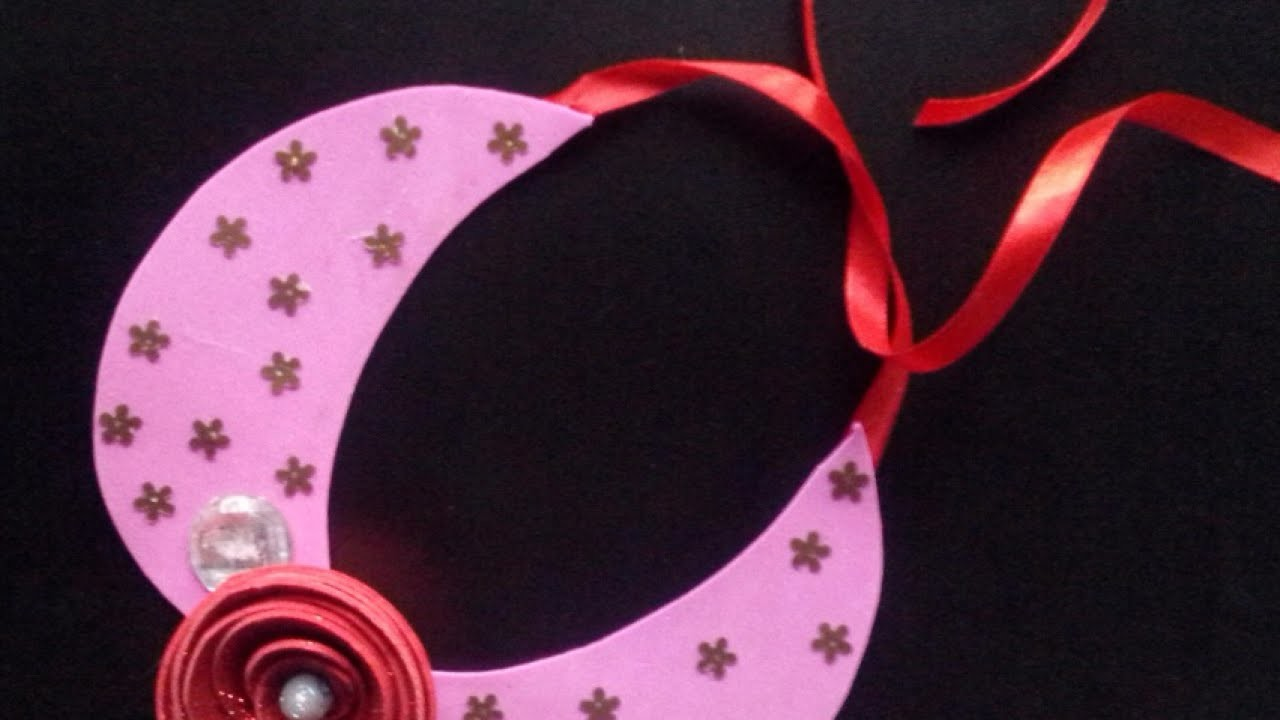Make a Funky Valentine-Themed Necklace - DIY Style - Guidecentral