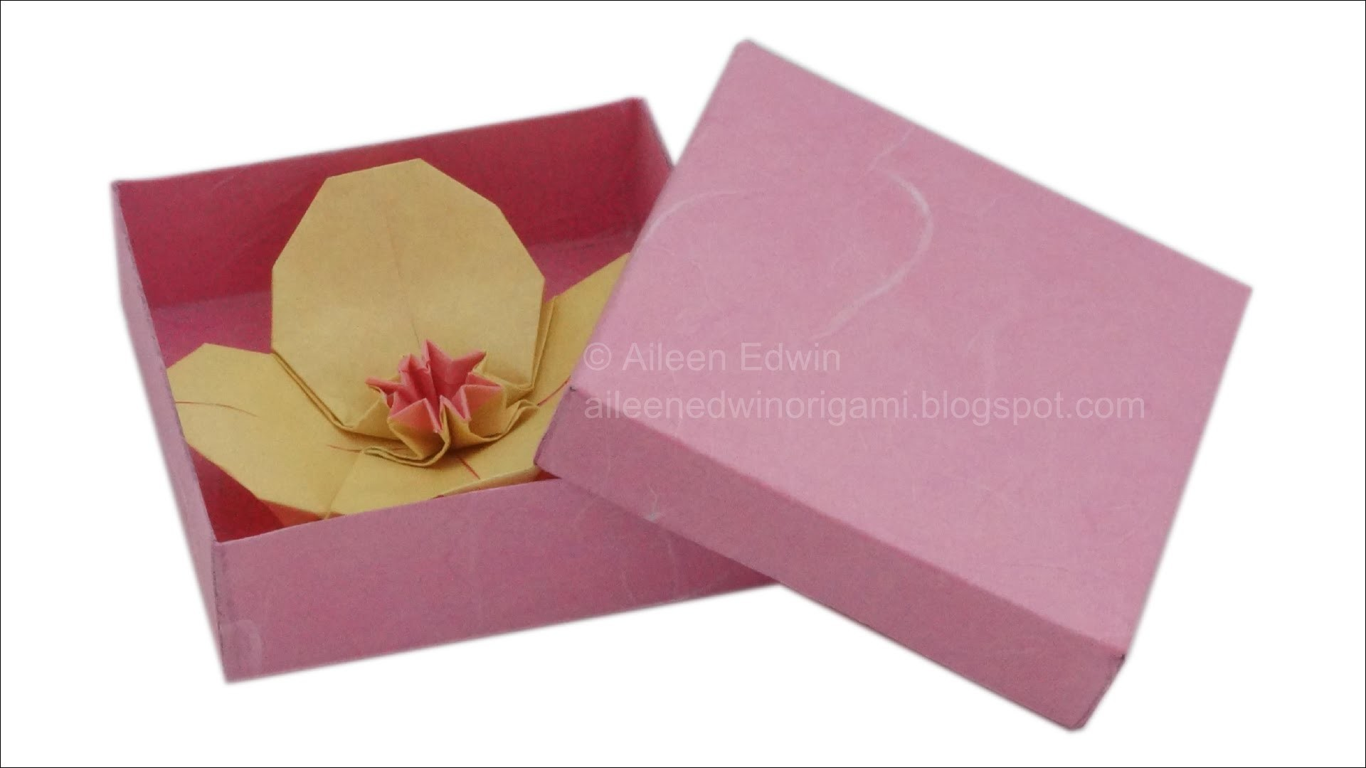 Make Your Own Gift Box Video Tutorial *HD*