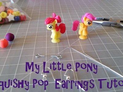 My Little Pony Squishy Pop Earrings Tutorial