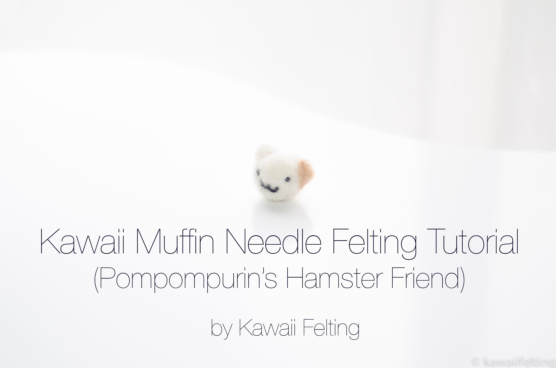 Needle Felting Animals Tutorial - Hamster (니들펠트)