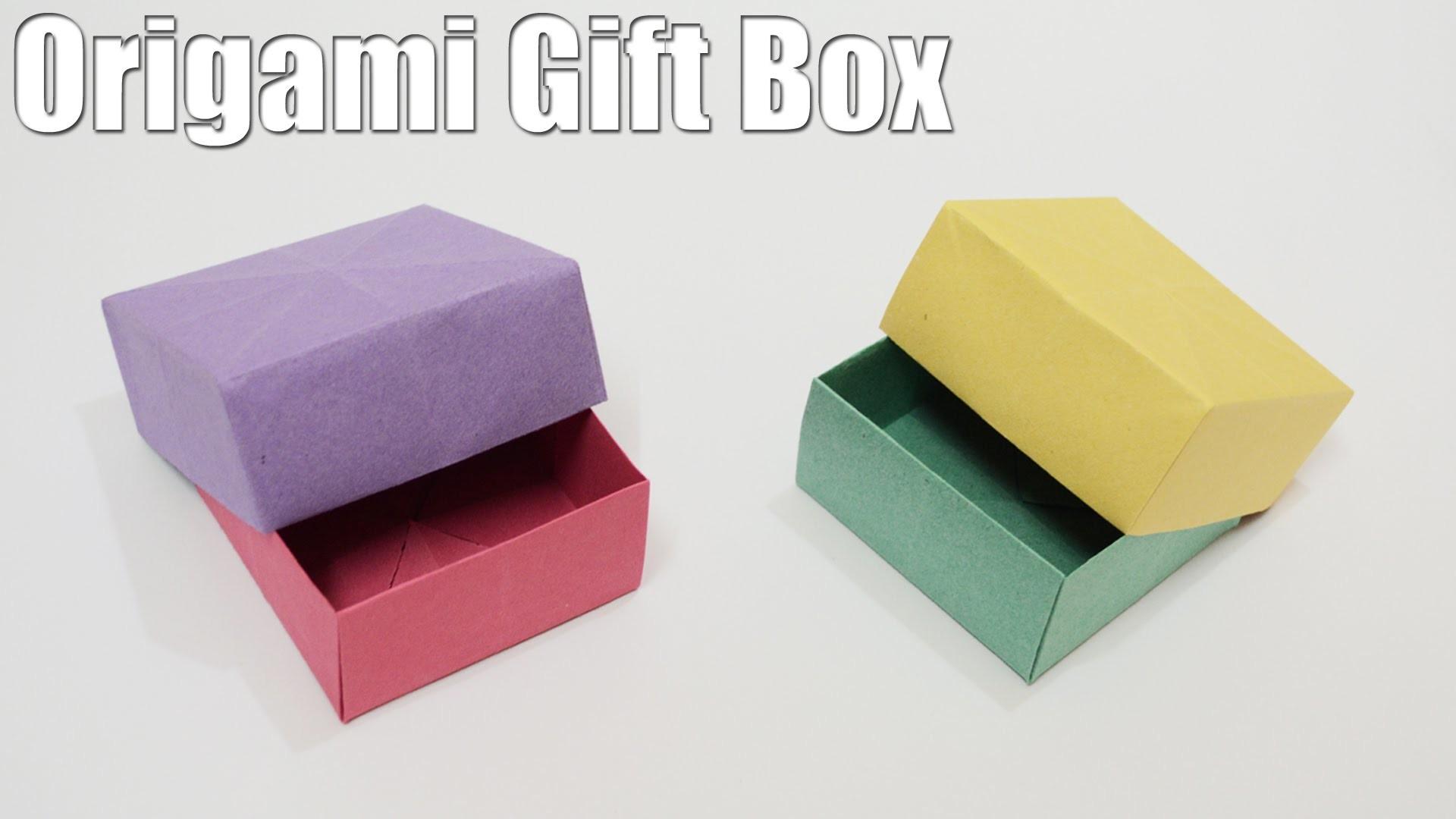 Origami Gift Box - Tutorial (Easy)