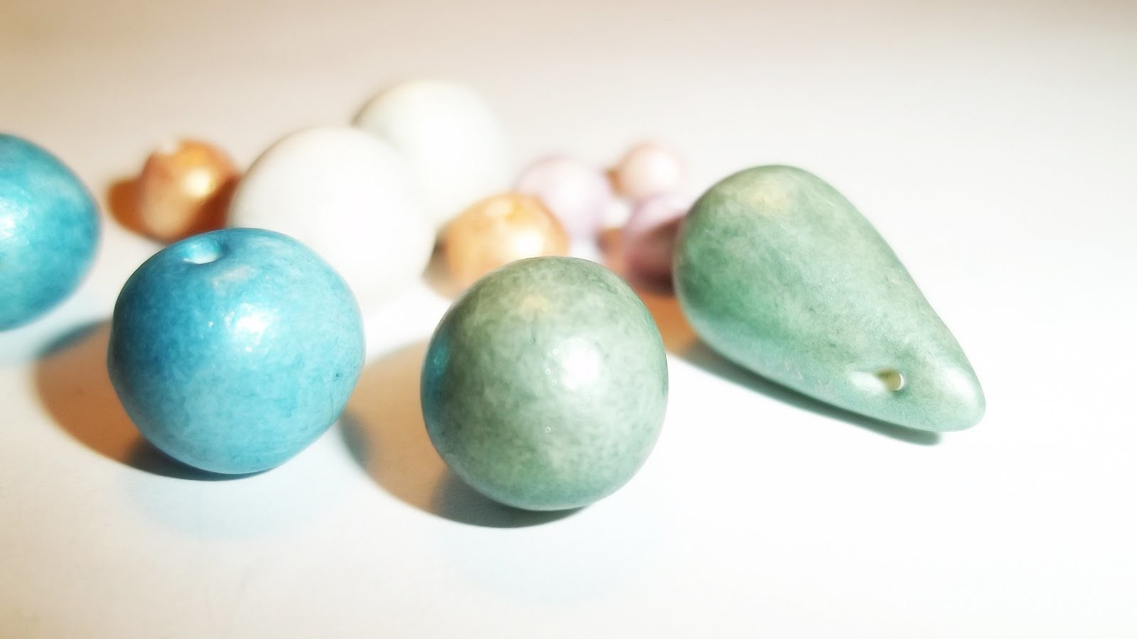 Pearls ~ Clay Tutorial
