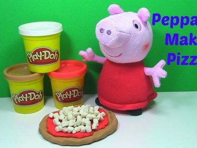 Peppa Pig PLAY DOH Pizza Tutorial