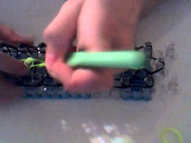 Rainbow Loom tutorial How to make a triple single bracelet