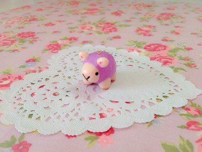 Squishy Inspired Clay Tutorial: Baby Ram Charm ♡