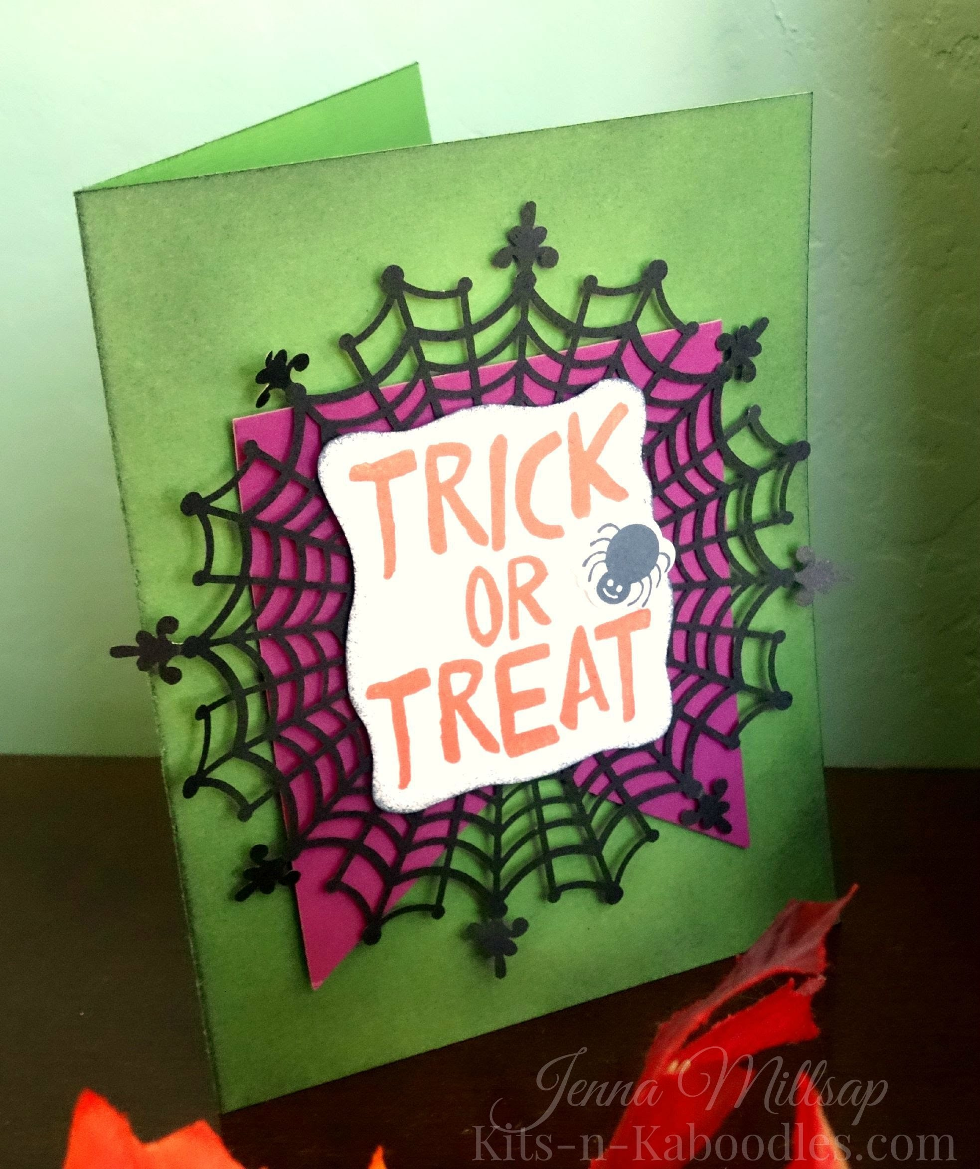 Stampin' Up! Trick or Treat Card Tutorial ~ Feat. the Howl-O-Ween Stamp Set