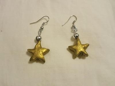 draw terracotta earrings clay earrings jewellery