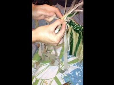 Tutorial: How to make a Hip Hei (Tahitian Dancing Hip Belt) Part 2