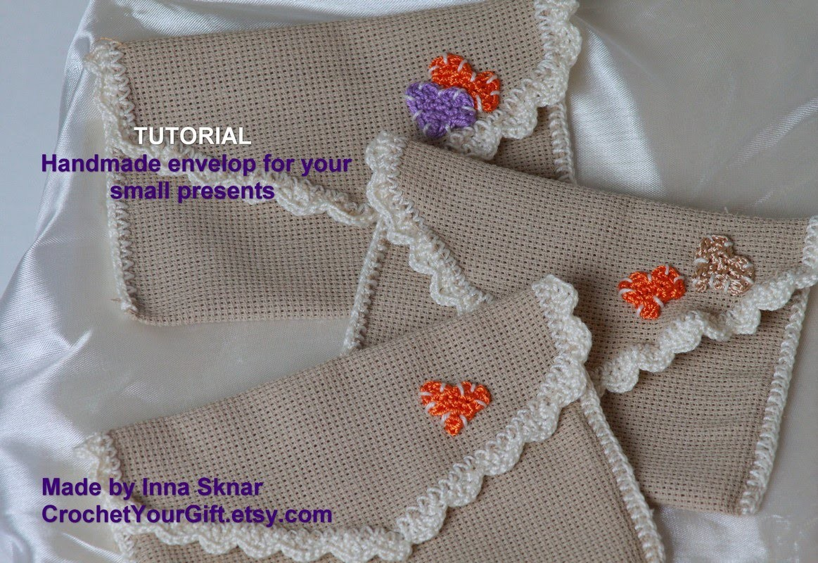 Tutorial How to make an envelope for presents