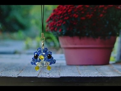 Video Tutorial on How to Make a Blue Beaded Bird Craft for Kids
