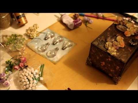 Altered Box Tutorial #CraftThatDivas #DivaOfTheMonthProject