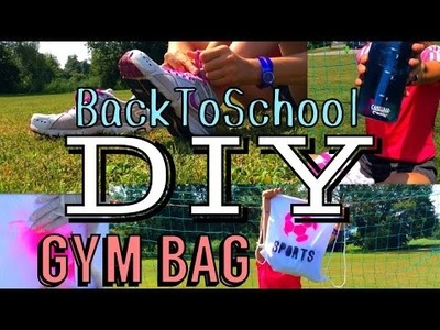 BackToSchool DIY Gym Bag ⚽️