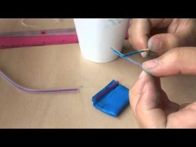 DIY #15 how to make beanie boo pencil pouch