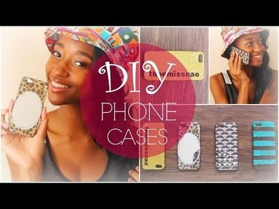 DIY | 4 Easy & Affordable DIY Phone Cases