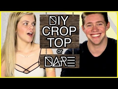 DIY Crop Top?! | DI-Dare w. Jonah Green and Griffin Arnlund