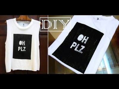 DIY Forever 21 Graphic Tee OH PLZ