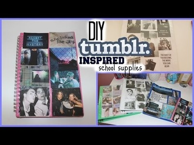 DIY Tumblr Inspired School Supplies