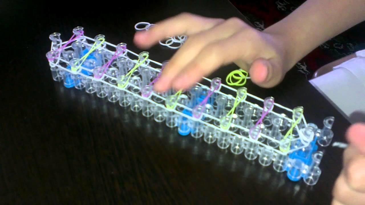 EASY Infinity loom bracelet tutorial