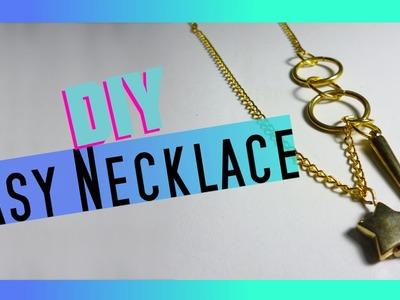 Easy Necklace - DIY