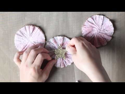 EyeConnect Crafts DT Project - Shabby Chic Garland TLS #10 Video Tutorial