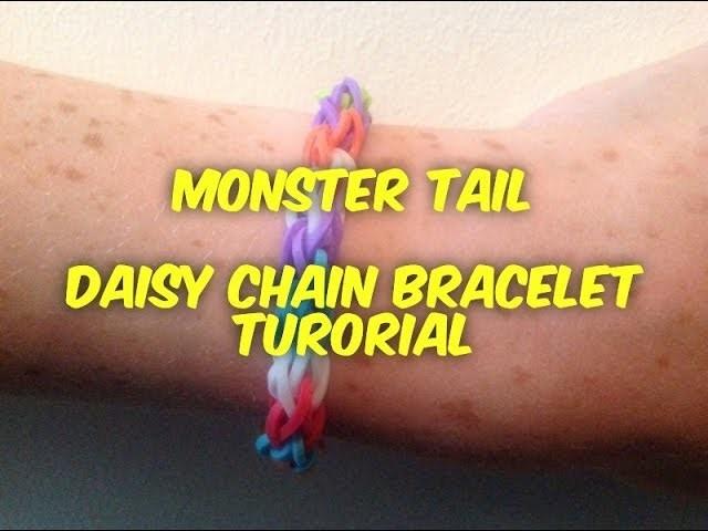 Monster Tail | Daisy Chain Bracelet Tutorial