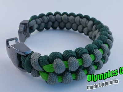 Olympic Cobra Paracord Bracelet Tutorial