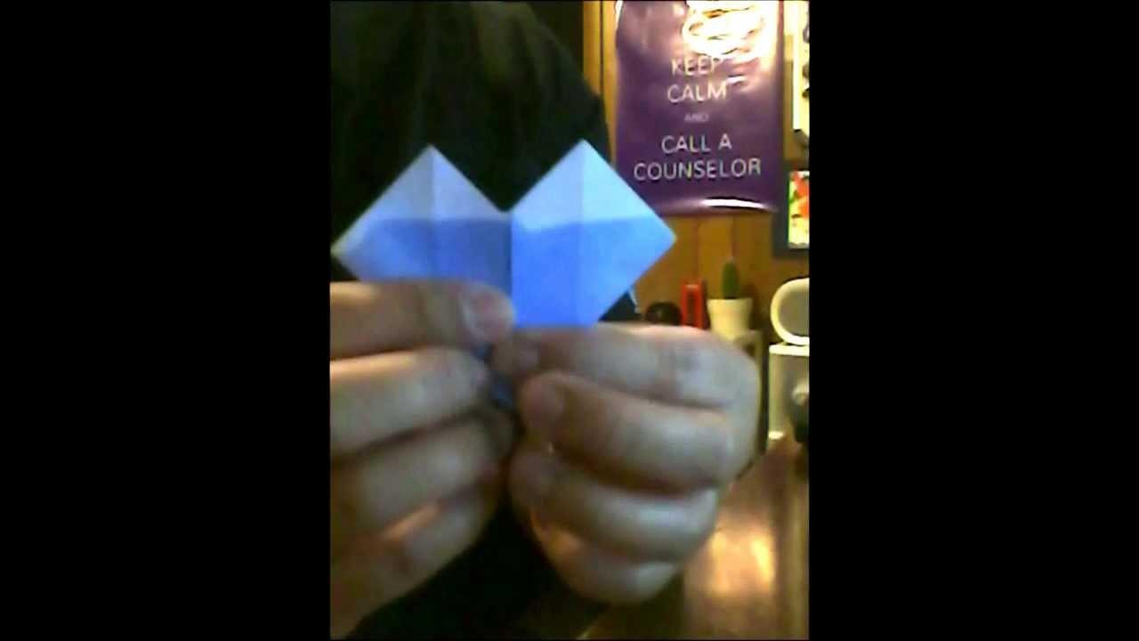 Origami Tutorial - Heart