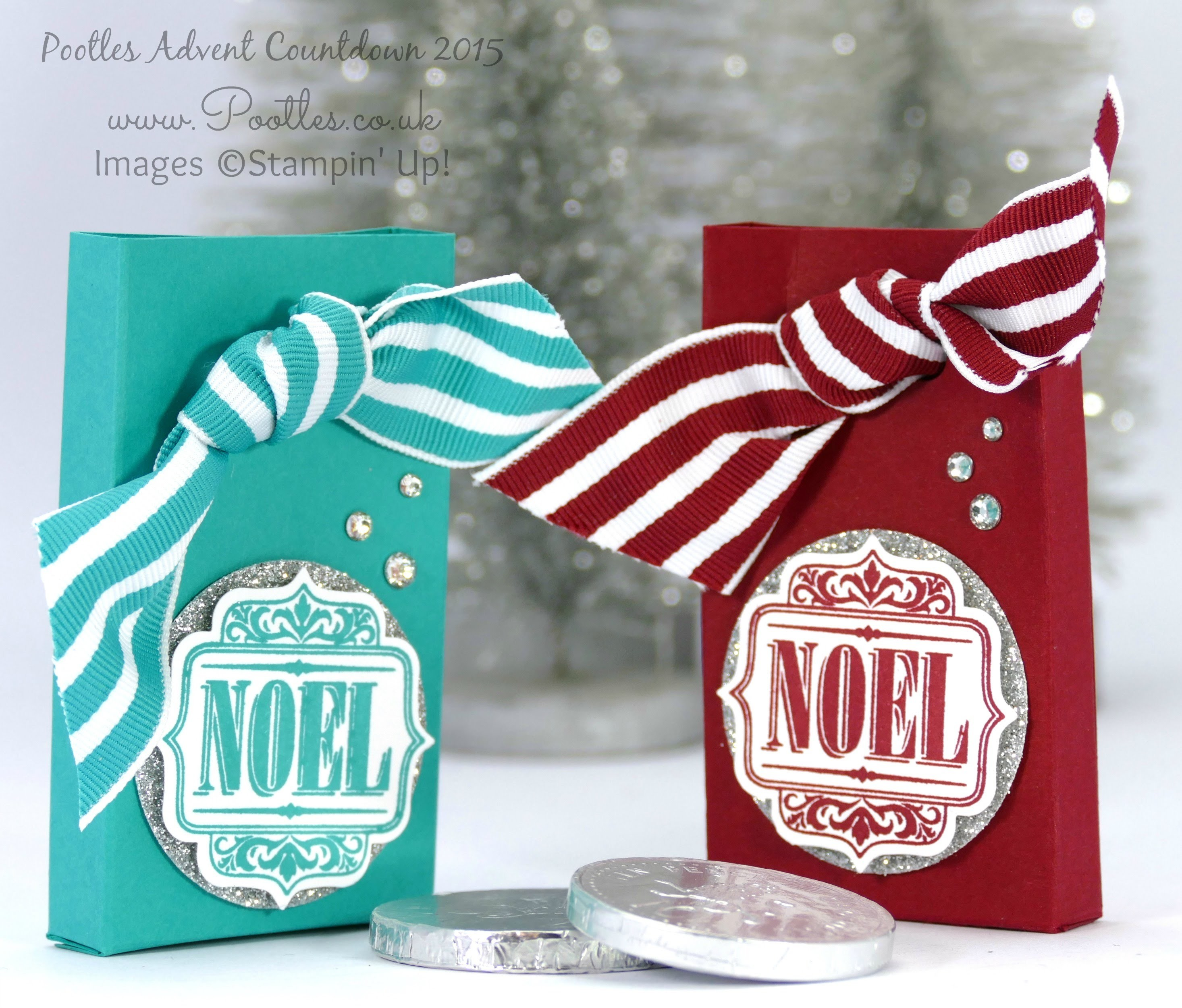 Pootles Advent Countdown #15 Chocolate Coin Box Tutorial