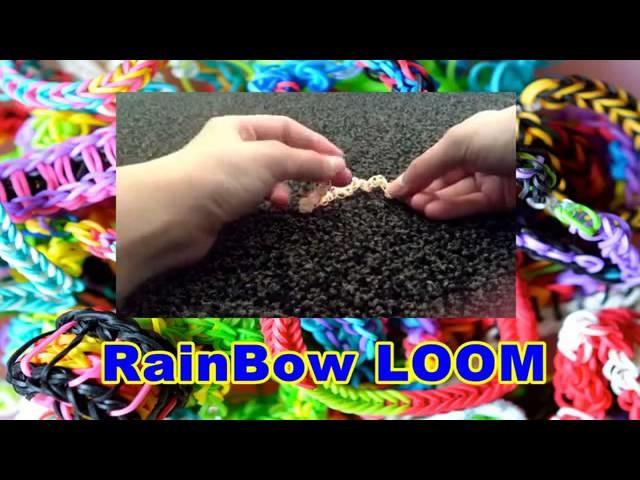 RAINBOW LOOM FISHTAIL BRACELET BY HAND EASY | Loom Bands Tutorial