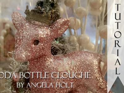 Soda Bottle Clouche Tutorial (Shabby Chic)
