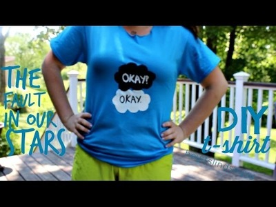 The fault in our stars : diy tshirt