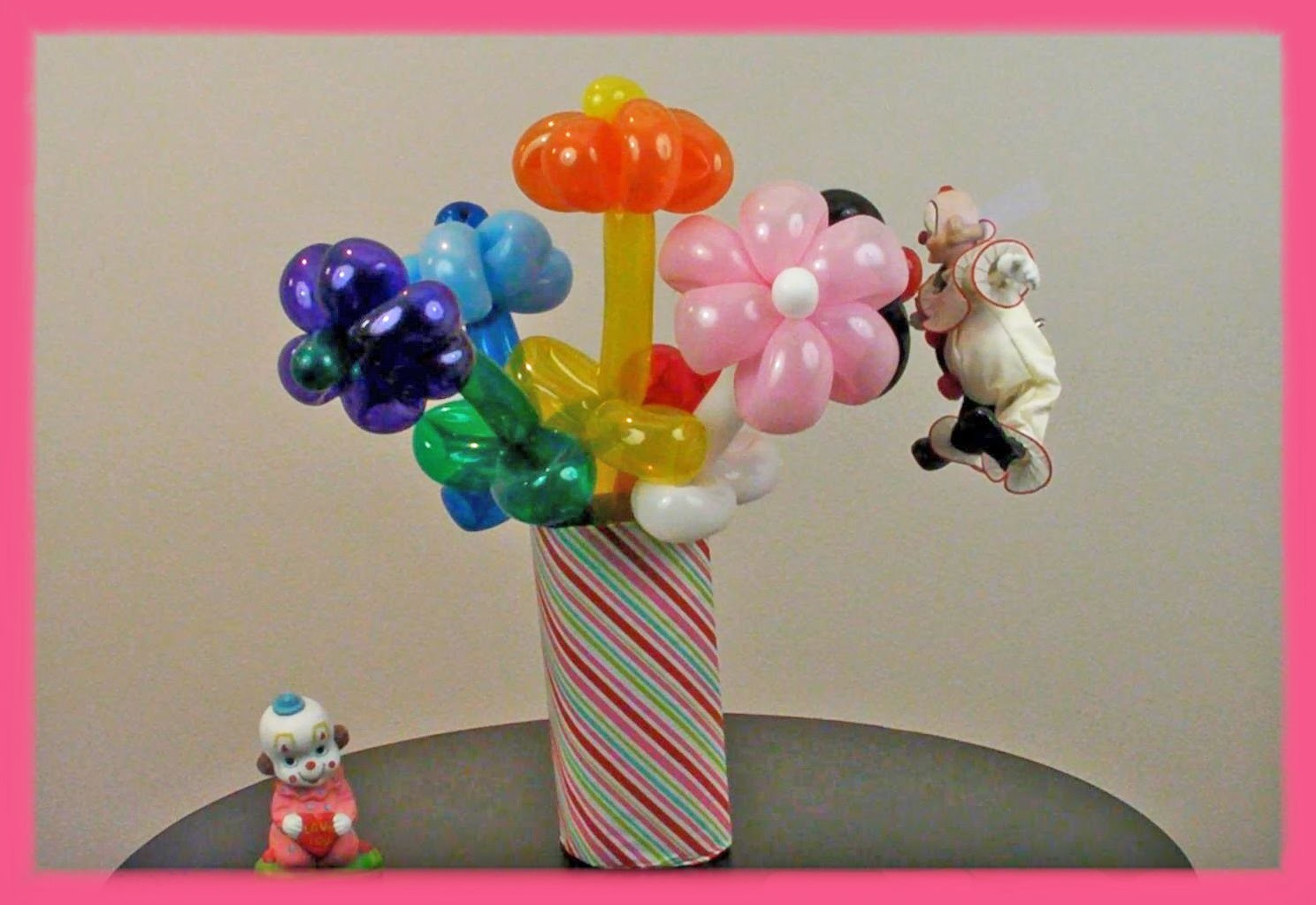 Tutorial: How To Make a Flower Balloon Bouquet
