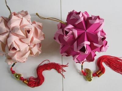 TUTORIAL - Little Roses Kusudama (Creator: Maria Sinayskaya)