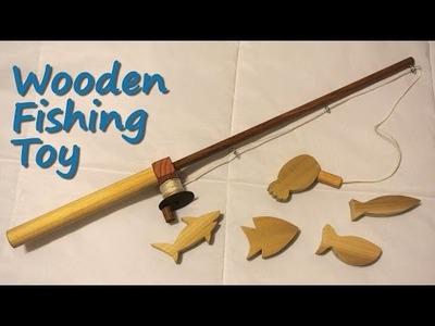 Wooden fishing toy - DIY tutorial